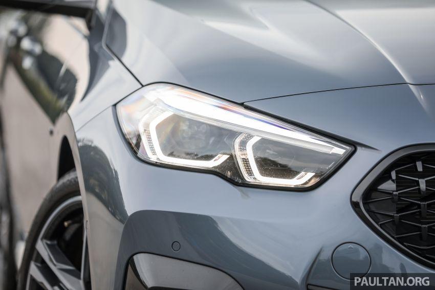 GALLERY: F44 BMW 218i Gran Coupé vs V177 Mercedes-Benz A200 Sedan – compact sedan rivals Image #1229778