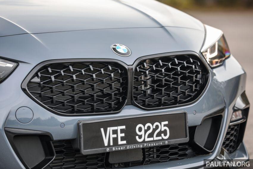 GALLERY: F44 BMW 218i Gran Coupé vs V177 Mercedes-Benz A200 Sedan – compact sedan rivals Image #1229782