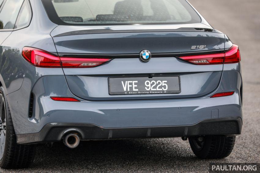 GALLERY: F44 BMW 218i Gran Coupé vs V177 Mercedes-Benz A200 Sedan – compact sedan rivals Image #1229791