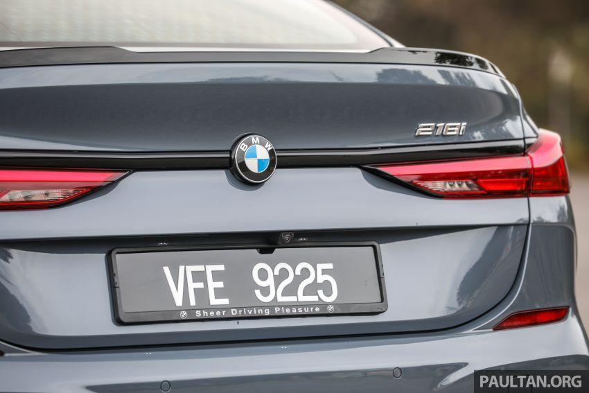 GALLERY: F44 BMW 218i Gran Coupé vs V177 Mercedes-Benz A200 Sedan – compact sedan rivals Image #1229797