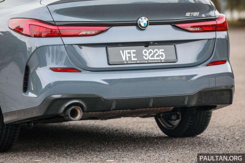 GALLERY: F44 BMW 218i Gran Coupé vs V177 Mercedes-Benz A200 Sedan – compact sedan rivals Image #1229798