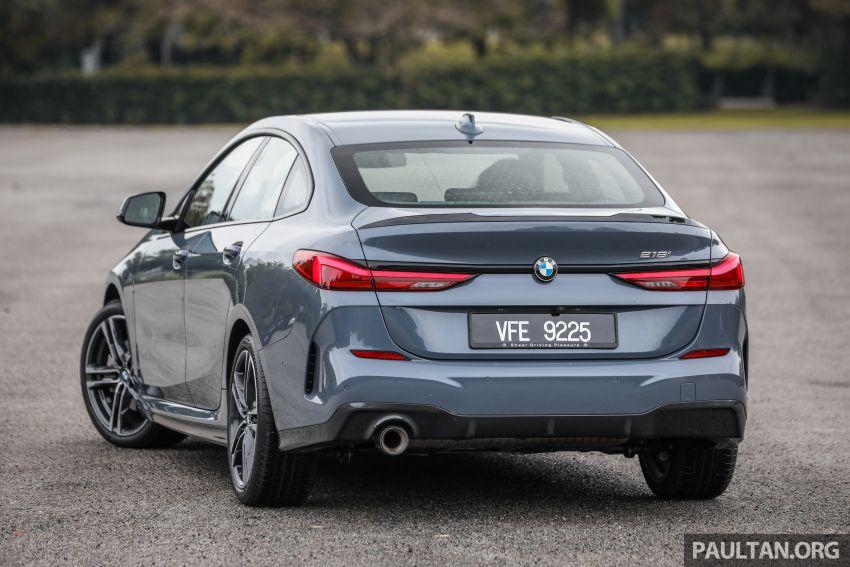 GALLERY: F44 BMW 218i Gran Coupé vs V177 Mercedes-Benz A200 Sedan – compact sedan rivals Image #1229769