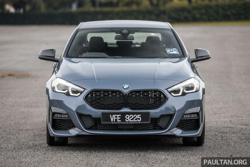 GALLERY: F44 BMW 218i Gran Coupé vs V177 Mercedes-Benz A200 Sedan – compact sedan rivals Image #1229771