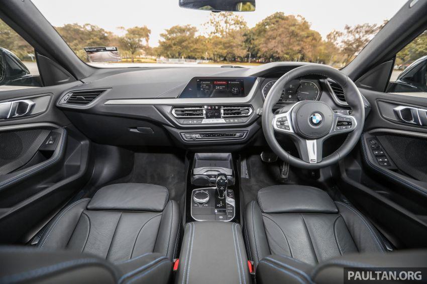 GALLERY: F44 BMW 218i Gran Coupé vs V177 Mercedes-Benz A200 Sedan – compact sedan rivals Image #1229806