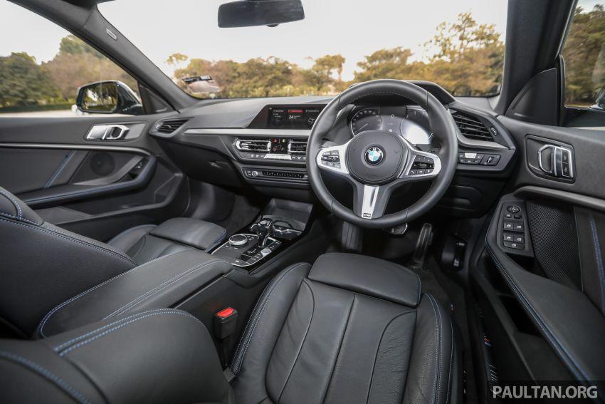GALLERY: F44 BMW 218i Gran Coupé vs V177 Mercedes-Benz A200 Sedan – compact sedan rivals Image #1229839