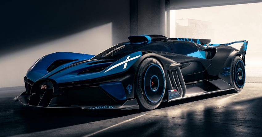 Bugatti Bolide showcased in new live photo gallery Image #1222364