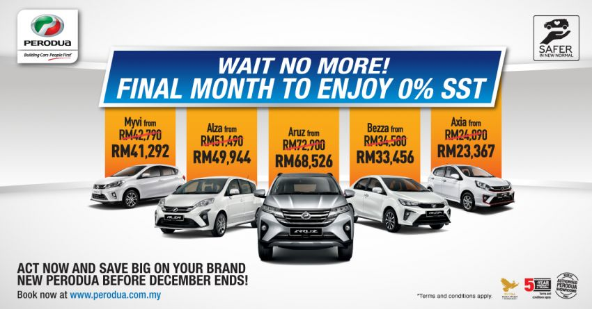 AD: Wait no more! Last call for Perodua's cash rebate of up to RM2,200, plus 0% SST – offer ends on Dec 31 Image #1224332