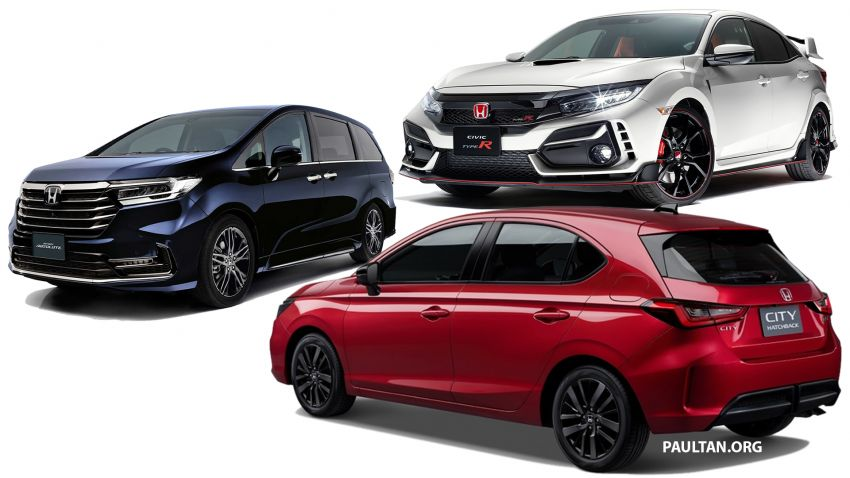 Honda in 2021 – City Hatchback to replace Jazz, Civic Type R and Odyssey facelifts coming to Malaysia? Image #1230207