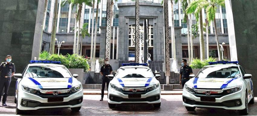 KPDNHEP receives 16 Honda Civic 1.8 S fleet vehicles Image #1228044