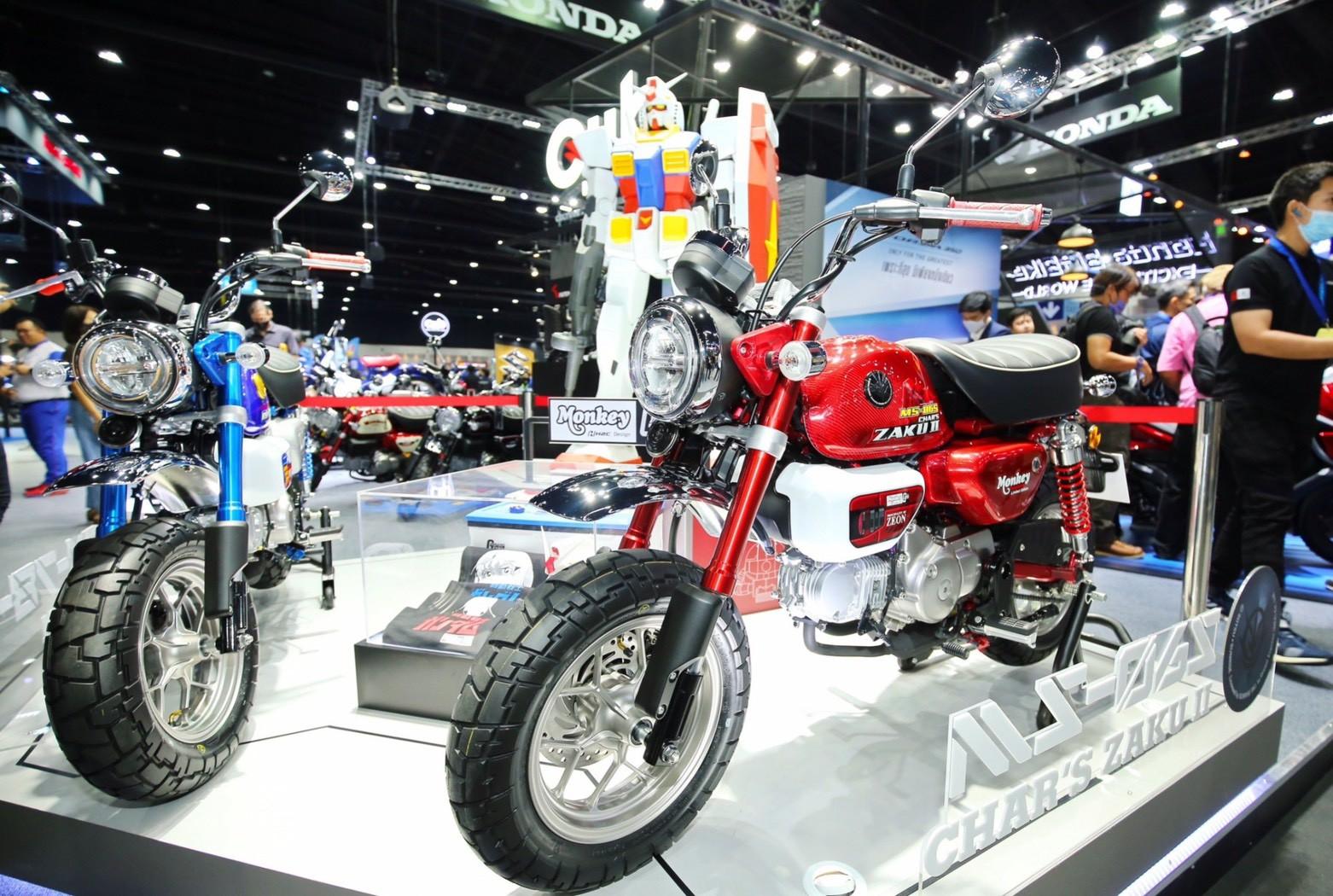 Honda Monkey Gundam Thailand Bm 2 Paul Tan S Automotive News