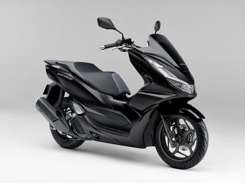 2021 Honda PCX 160 and PCX e:HEV in Japan – major overall makeover, more engine power, 15.8 PS, 15 Nm Image #1222810