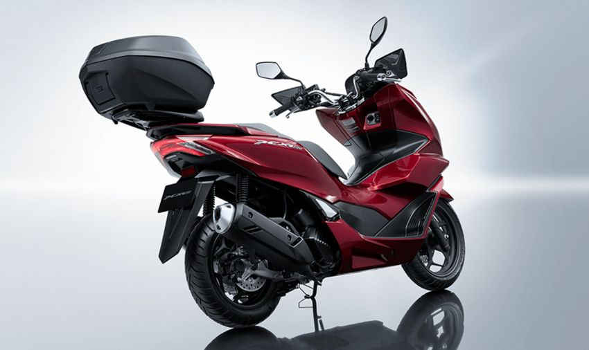 2021 Honda PCX 160 and PCX e:HEV in Japan – major overall makeover, more engine power, 15.8 PS, 15 Nm Image #1222822