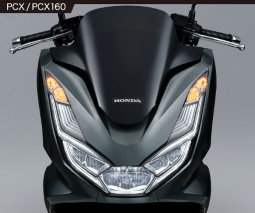 2021 Honda PCX 160 and PCX e:HEV in Japan – major overall makeover, more engine power, 15.8 PS, 15 Nm Image #1222824