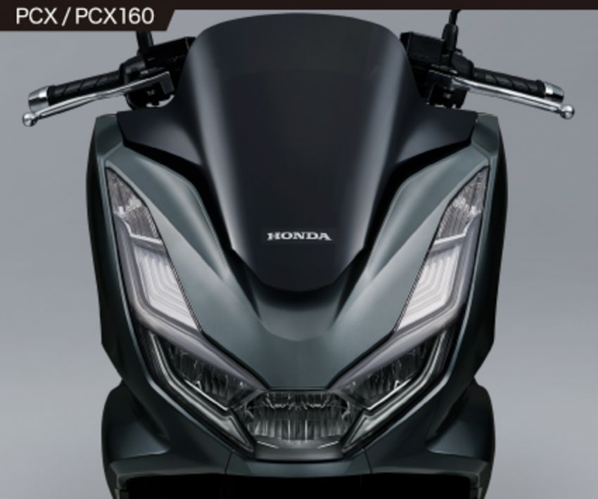 2021 Honda PCX 160 and PCX e:HEV in Japan – major overall makeover, more engine power, 15.8 PS, 15 Nm Image #1222825