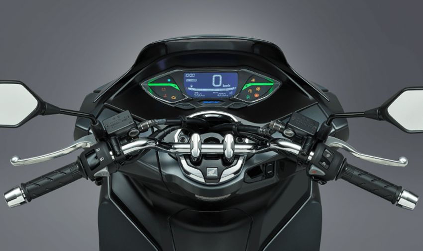 2021 Honda PCX 160 and PCX e:HEV in Japan – major overall makeover, more engine power, 15.8 PS, 15 Nm Image #1222828