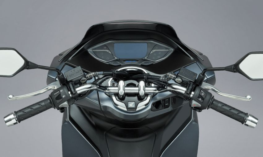 2021 Honda PCX 160 and PCX e:HEV in Japan – major overall makeover, more engine power, 15.8 PS, 15 Nm Image #1222829