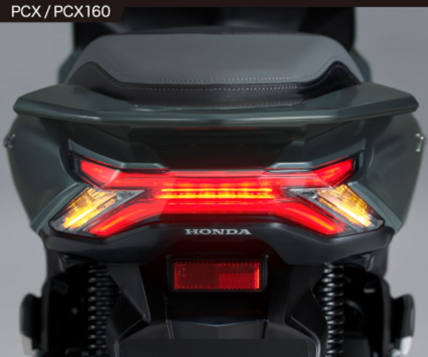 2021 Honda PCX 160 and PCX e:HEV in Japan – major overall makeover, more engine power, 15.8 PS, 15 Nm Image #1222831