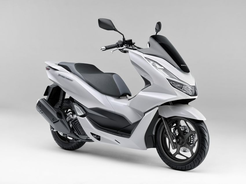 2021 Honda PCX 160 and PCX e:HEV in Japan – major overall makeover, more engine power, 15.8 PS, 15 Nm Image #1222812
