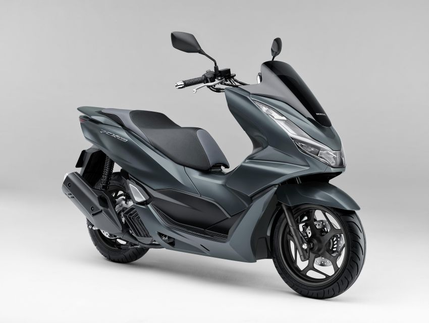 2021 Honda PCX 160 and PCX e:HEV in Japan – major overall makeover, more engine power, 15.8 PS, 15 Nm Image #1222813