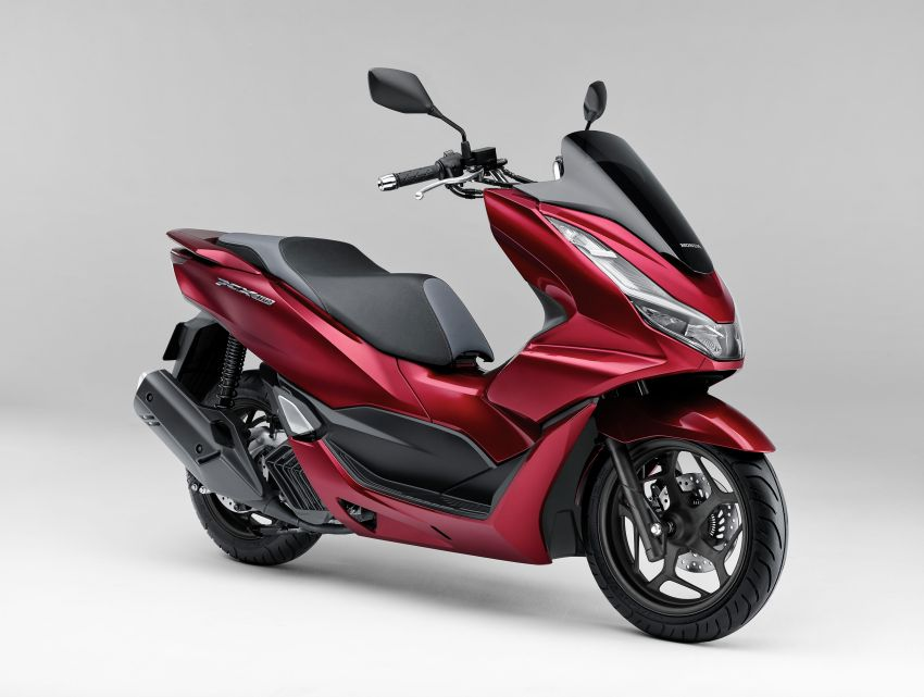2021 Honda PCX 160 and PCX e:HEV in Japan – major overall makeover, more engine power, 15.8 PS, 15 Nm Image #1222815