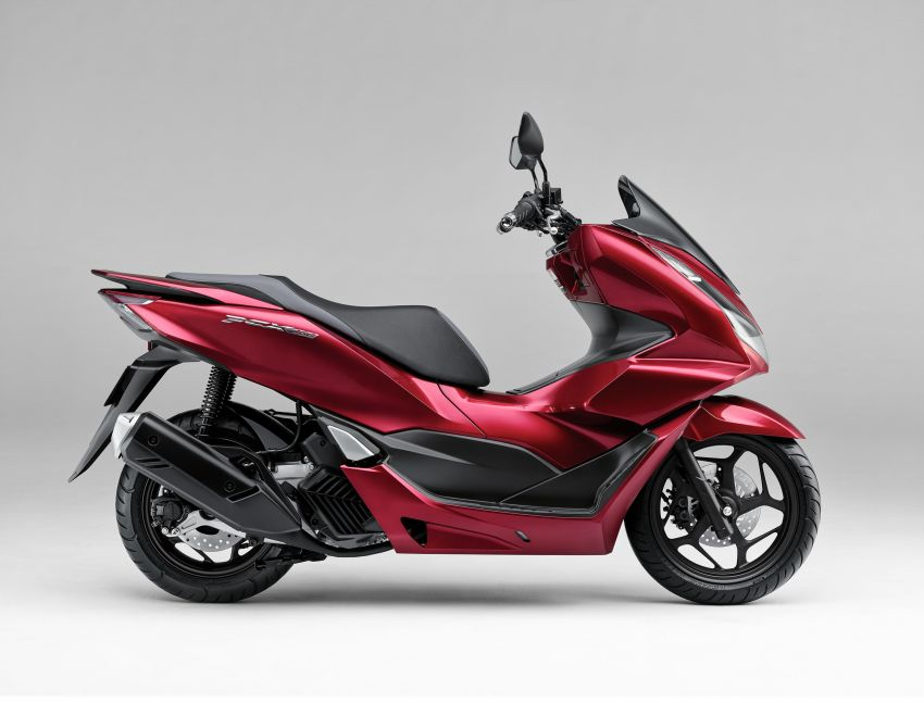 2021 Honda PCX 160 and PCX e:HEV in Japan – major overall makeover, more engine power, 15.8 PS, 15 Nm Image #1222816