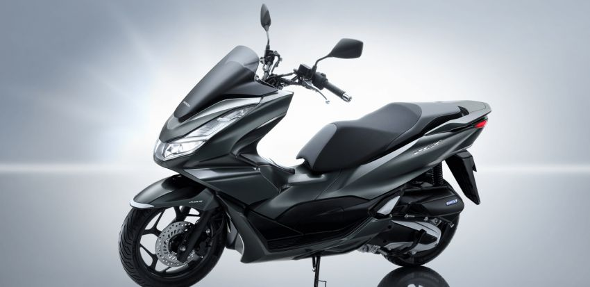2021 Honda PCX 160 and PCX e:HEV in Japan – major overall makeover, more engine power, 15.8 PS, 15 Nm Image #1222818