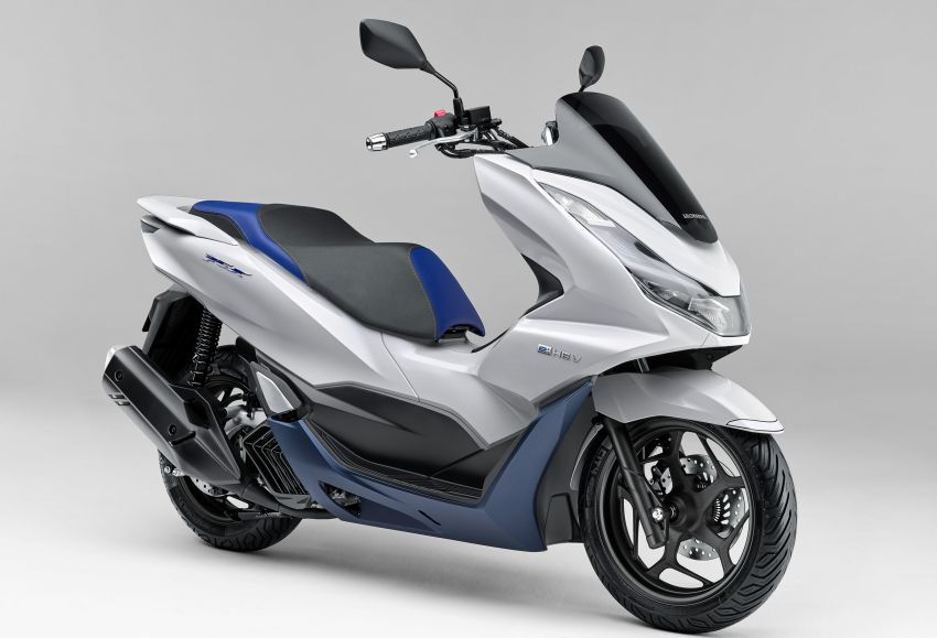 2021 Honda PCX 160 and PCX e:HEV in Japan – major overall makeover, more engine power, 15.8 PS, 15 Nm Image #1222834