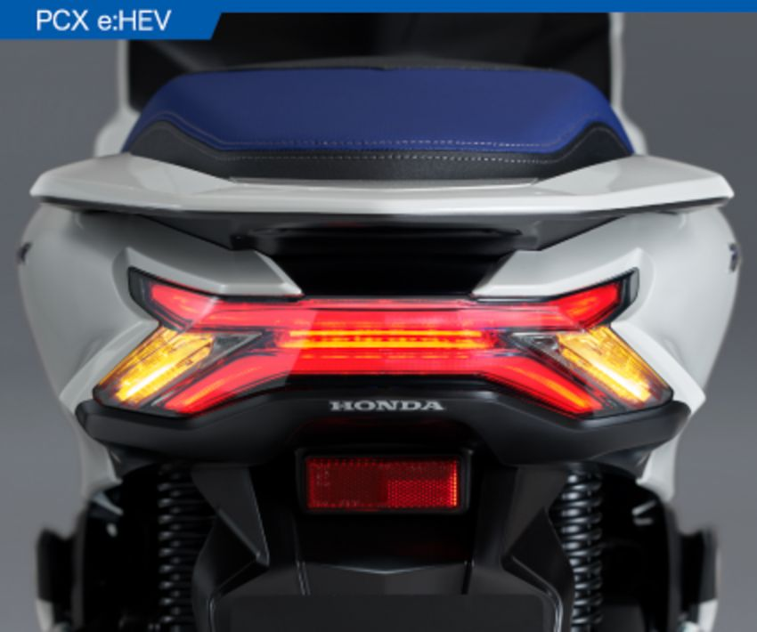 2021 Honda PCX 160 and PCX e:HEV in Japan – major overall makeover, more engine power, 15.8 PS, 15 Nm Image #1222843