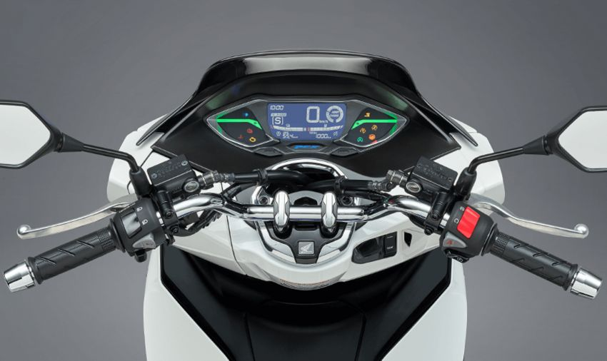 2021 Honda PCX 160 and PCX e:HEV in Japan – major overall makeover, more engine power, 15.8 PS, 15 Nm Image #1222845