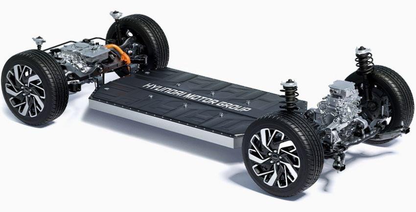 Hyundai reveals new E-GMP electric vehicle platform Image #1219321