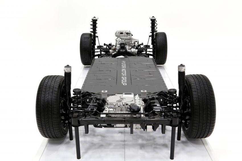 Hyundai reveals new E-GMP electric vehicle platform Image #1219322