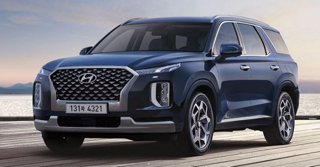 hyundai palisade three-row suv launched in indonesia