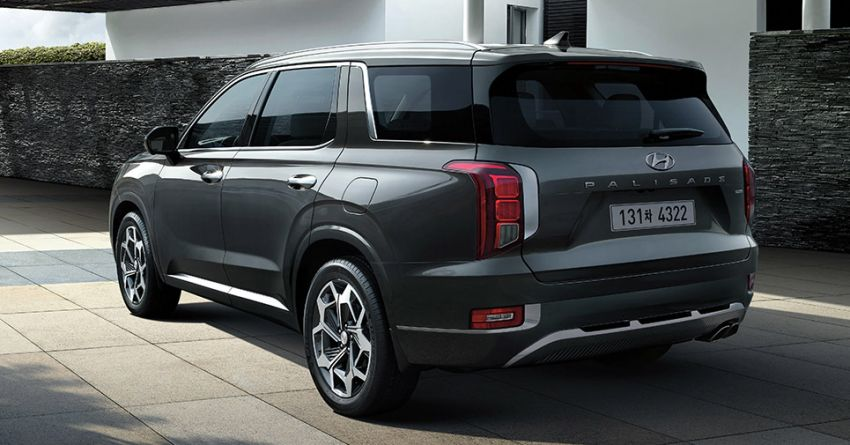 Hyundai Palisade three-row SUV launched in Indonesia – three diesel-powered variants; priced from RM223k Image #1224811