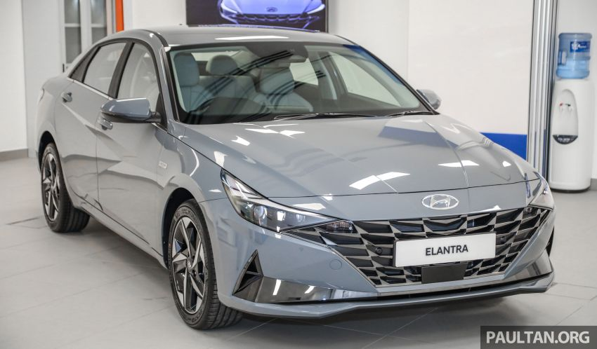 2021 Hyundai Elantra now in Malaysia – full specs and gallery of the 7th-gen 1.6L IVT sedan, launch next week Image #1219767