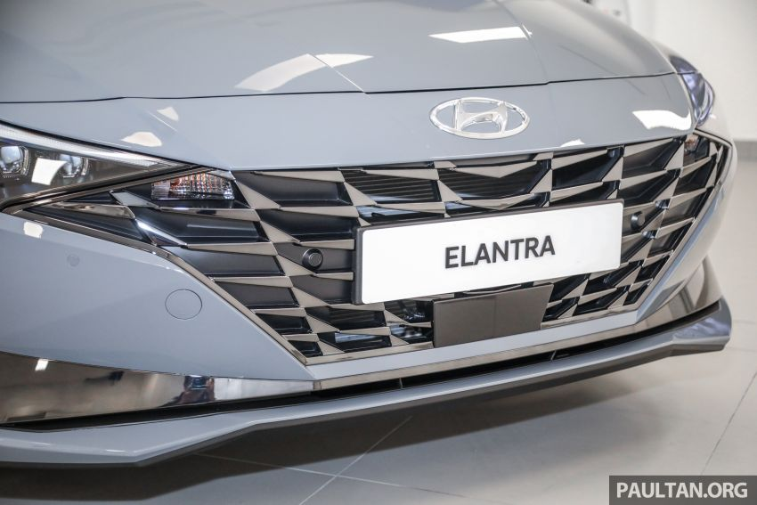 2021 Hyundai Elantra now in Malaysia – full specs and gallery of the 7th-gen 1.6L IVT sedan, launch next week Image #1219777