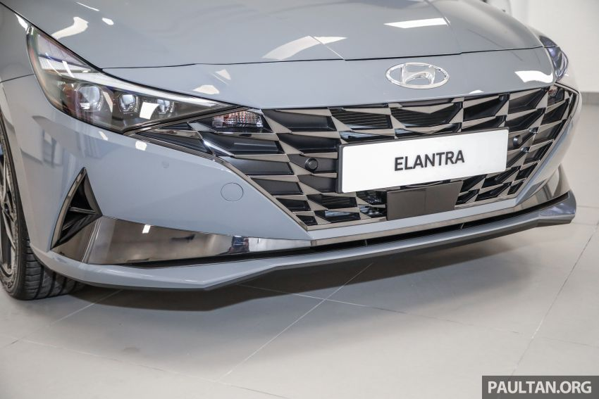 2021 Hyundai Elantra now in Malaysia – full specs and gallery of the 7th-gen 1.6L IVT sedan, launch next week Image #1219778