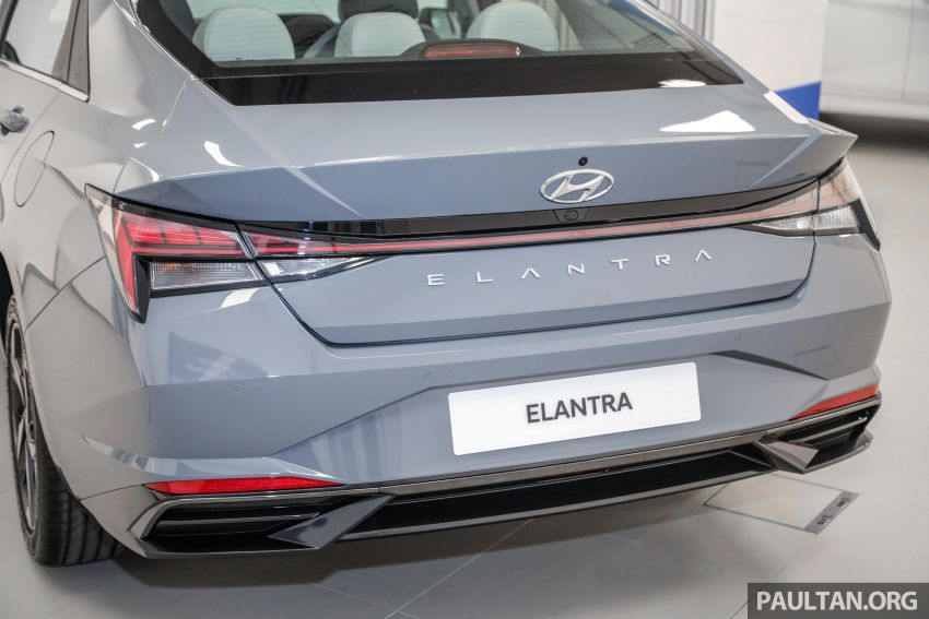 2021 Hyundai Elantra now in Malaysia – full specs and gallery of the 7th-gen 1.6L IVT sedan, launch next week Image #1219789