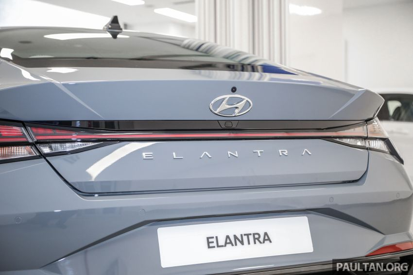 2021 Hyundai Elantra now in Malaysia – full specs and gallery of the 7th-gen 1.6L IVT sedan, launch next week Image #1219793