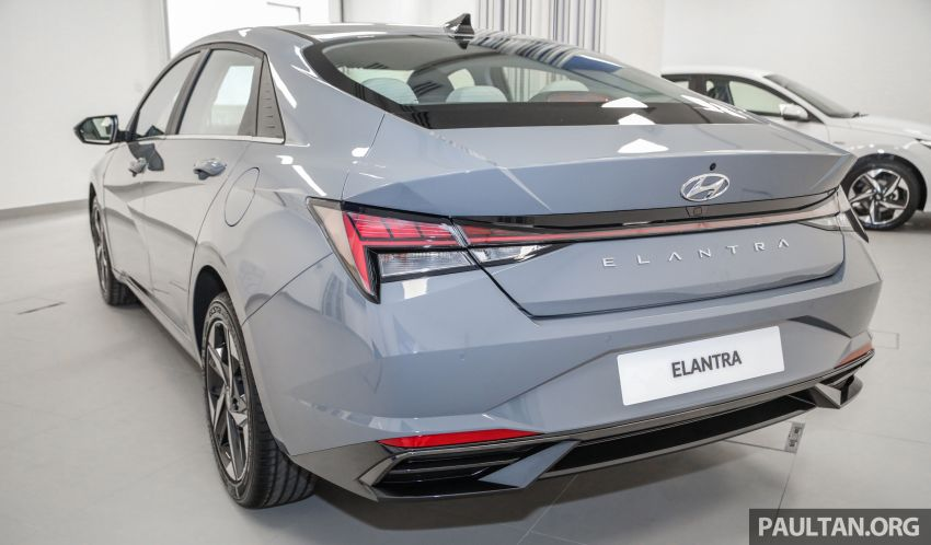 2021 Hyundai Elantra now in Malaysia – full specs and gallery of the 7th-gen 1.6L IVT sedan, launch next week Image #1219769