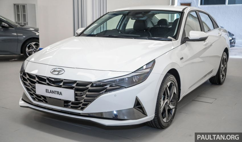 2021 Hyundai Elantra now in Malaysia – full specs and gallery of the 7th-gen 1.6L IVT sedan, launch next week Image #1219797