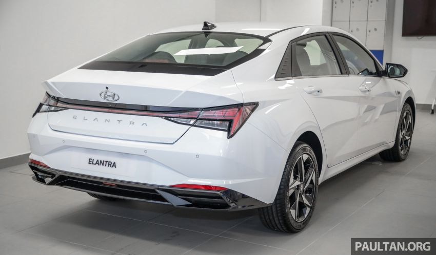 2021 Hyundai Elantra now in Malaysia – full specs and gallery of the 7th-gen 1.6L IVT sedan, launch next week Image #1219798