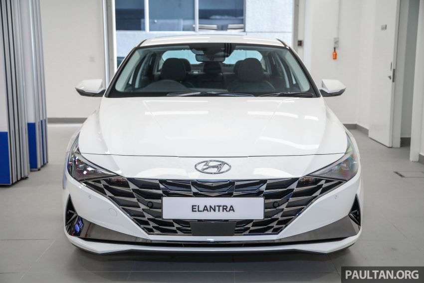 2021 Hyundai Elantra now in Malaysia – full specs and gallery of the 7th-gen 1.6L IVT sedan, launch next week Image #1219799