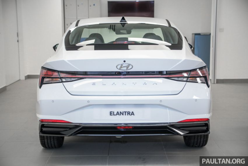 2021 Hyundai Elantra now in Malaysia – full specs and gallery of the 7th-gen 1.6L IVT sedan, launch next week Image #1219800