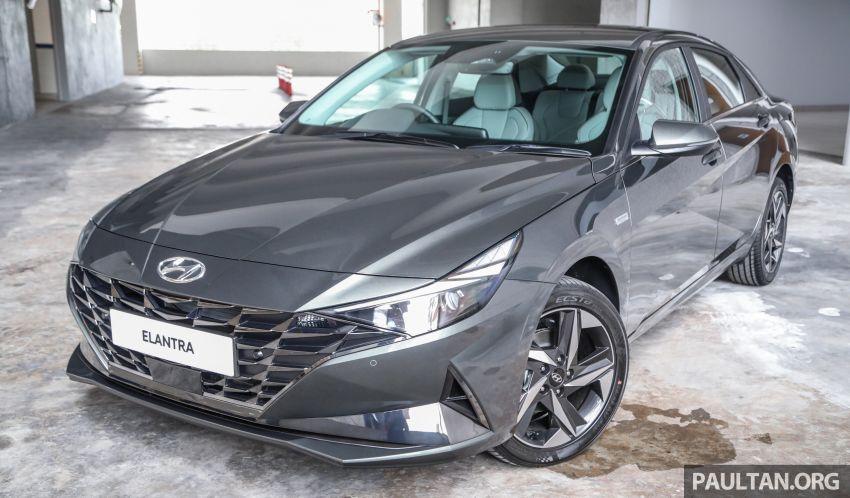Hyundai Elantra 2021 dilancar di Malaysia minggu depan – spesifikasi penuh sedan 1.6L IVT didedahkan Image #1220186