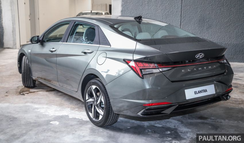 2021 Hyundai Elantra now in Malaysia – full specs and gallery of the 7th-gen 1.6L IVT sedan, launch next week Image #1219803