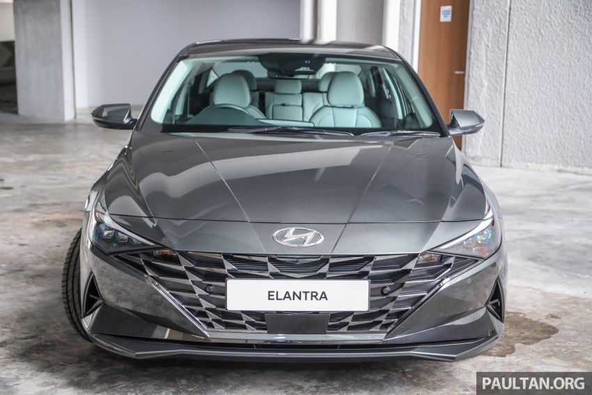 2021 Hyundai Elantra now in Malaysia – full specs and gallery of the 7th-gen 1.6L IVT sedan, launch next week Image #1219804