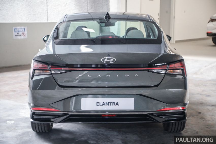 2021 Hyundai Elantra now in Malaysia – full specs and gallery of the 7th-gen 1.6L IVT sedan, launch next week Image #1219805