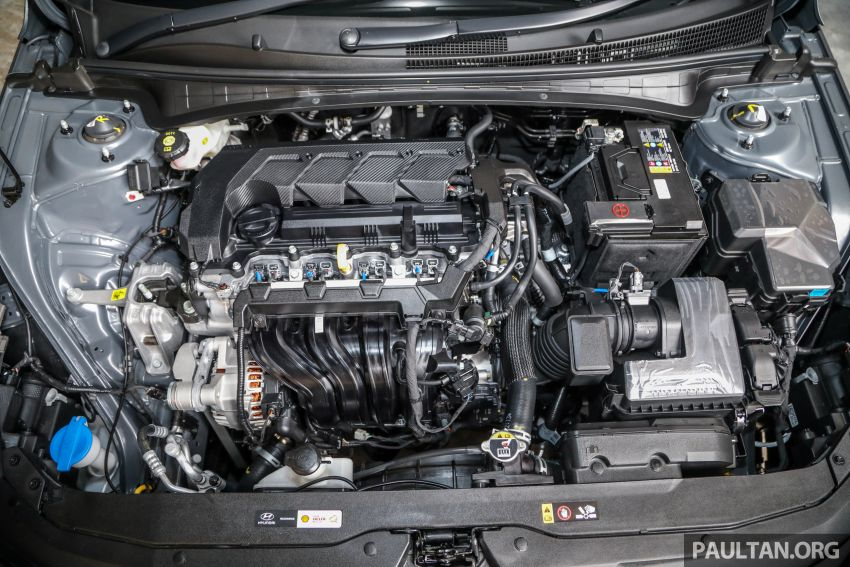 2021 Hyundai Elantra now in Malaysia – full specs and gallery of the 7th-gen 1.6L IVT sedan, launch next week Image #1219806