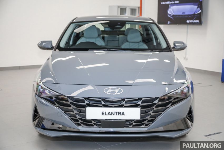 2021 Hyundai Elantra now in Malaysia – full specs and gallery of the 7th-gen 1.6L IVT sedan, launch next week Image #1219771