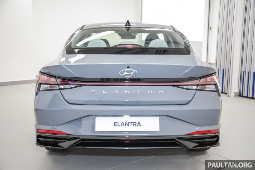 2021 Hyundai Elantra now in Malaysia – full specs and gallery of the 7th-gen 1.6L IVT sedan, launch next week Image #1219772